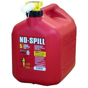 No Spill Gas Cans for Portable Generators